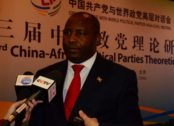 Le Parti CNDD-FDD participe au seminaire des partis politiques africains en Chine