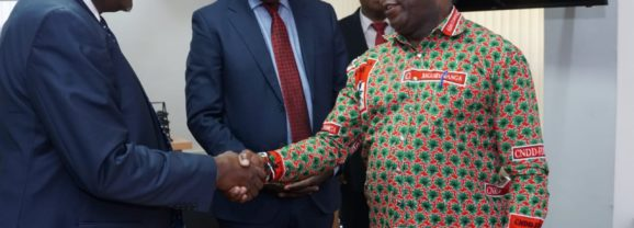 Vers le renforcement des liens avec le Parti Jubilee du Kenya