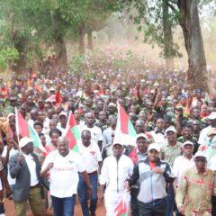 Umugambwe CNDD-FDD ubandanya uhurumbirwa na bose mu ntara ya Muyinga