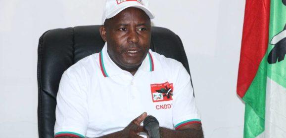 Communiqué du Parti CNDD-FDD après la promulgation de la nouvelle Constitution ce 7 juin 2018.